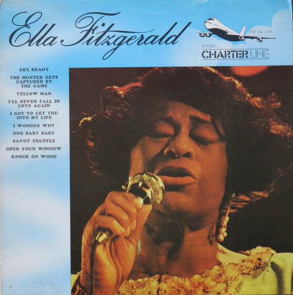 Ella Fitzgerald - Ella Fitzgerald (LP, Album, RE) - USED
