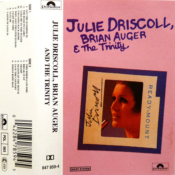 Julie Driscoll, Brian Auger & The Trinity - Julie Driscoll, Brian Auger & The Trinity (Cass, Comp, RE) - USED