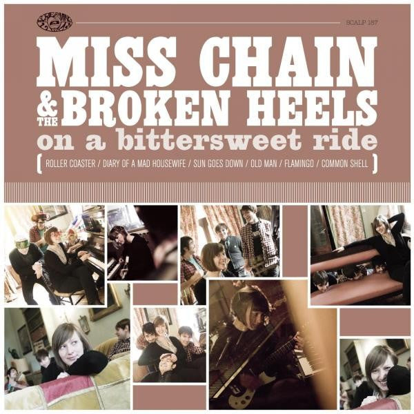 Miss Chain & The Broken Heels - On A Bittersweet Ride (CD, Album) - USED