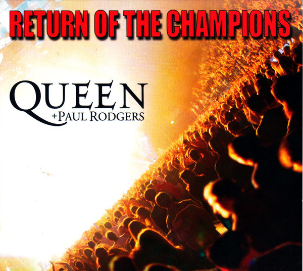 Queen + Paul Rodgers - Return Of The Champions (2xCD, Album, Dig) - NEW