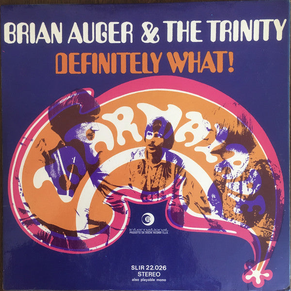 Brian Auger & The Trinity - Definitely What! (LP, Album) - USED