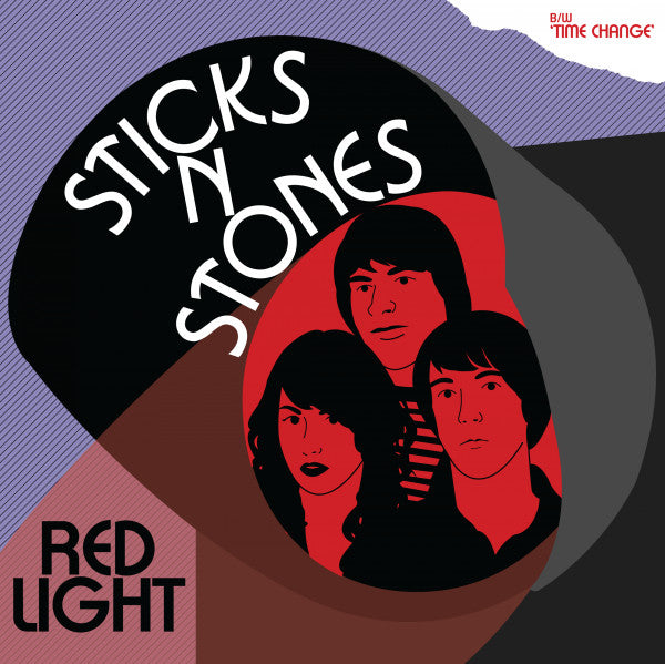 "Sticks N Stones - Red Light / Time Change (7"", Single) - USED"