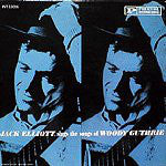 Jack Elliott* - Jack Elliott Sings The Songs Of Woody Guthrie (LP) - USED