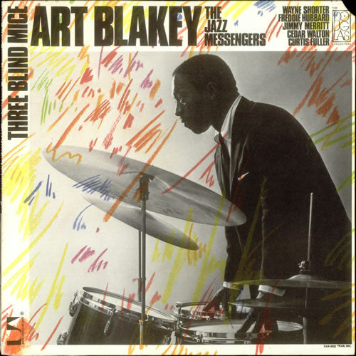 Art Blakey & The Jazz Messengers - Three Blind Mice (LP, Album, RE) - USED