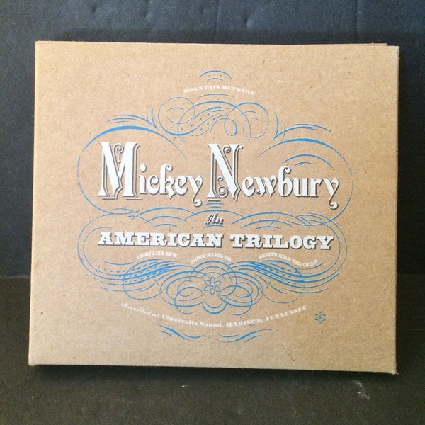 Mickey Newbury - An American Trilogy (4xCD, Comp, RM) - NEW