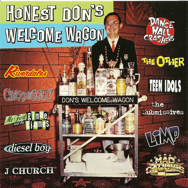 Various - Honest Don's Welcome Wagon (CD, Comp) - USED