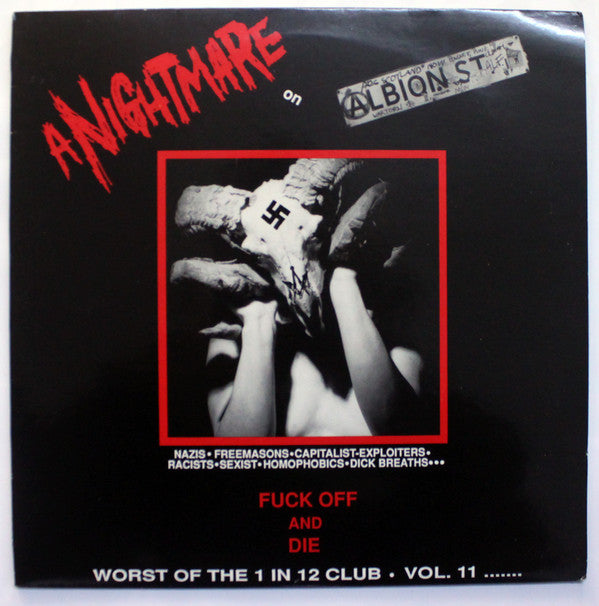 Various - A Nightmare On Albion St. (LP, Comp) - USED