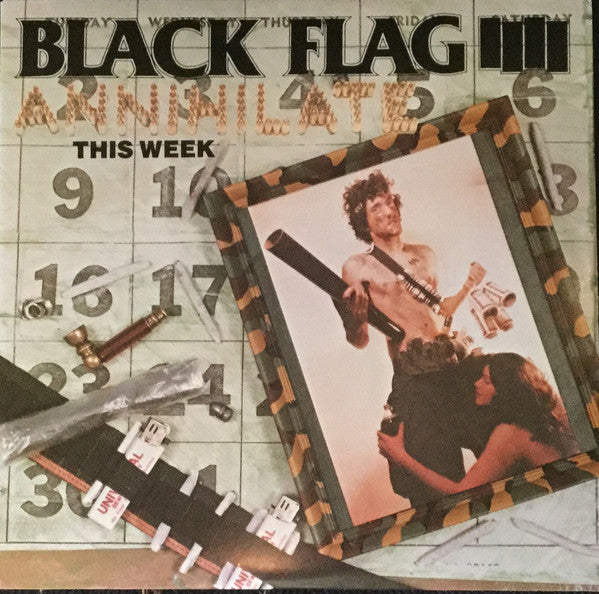 "Black Flag - Annihilate This Week (12"", Single, RP) - NEW"