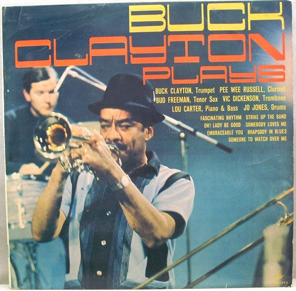 Buck Clayton - Buck Clayton Plays (LP, Album, Mono) - USED