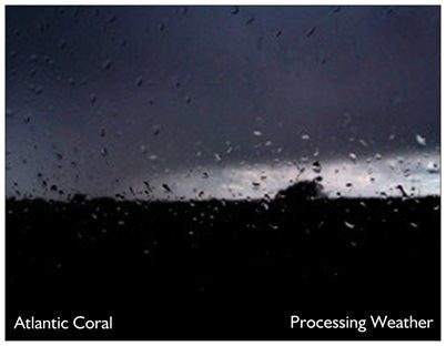 Atlantic Coral - Processing Weather (CDr, EP) - NEW