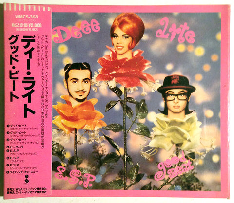 Deee-Lite - Good Beat / E.S.P. (CD, Single, Car) - USED
