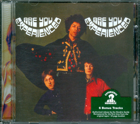 The Jimi Hendrix Experience - Are You Experienced? (CD, Album, RE, RM) - USED