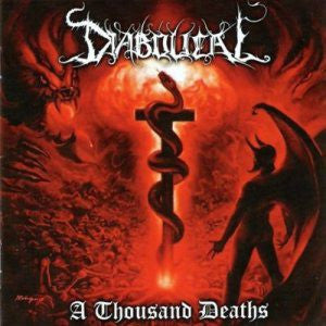 Diabolical - A Thousand Deaths (CD, Album) - USED