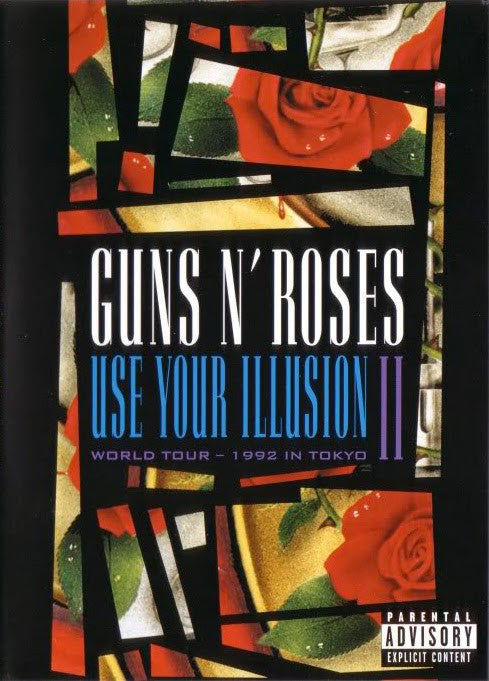 Guns N' Roses - Use Your Illusion II - World Tour - 1992 In Tokyo (DVD-V, Copy Prot., RE, PAL) - USED