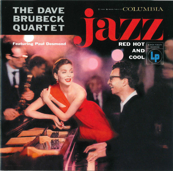 The Dave Brubeck Quartet - Jazz: Red Hot And Cool (CD, Album, RE, RM) - USED