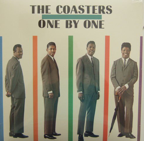The Coasters - One By One (LP, Album, RE) - USED