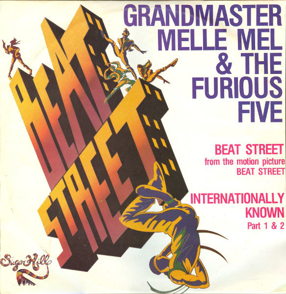 "Grandmaster Melle Mel & The Furious Five - Beat Street / Internationally Known Part 1 & 2 (12"") - USED"