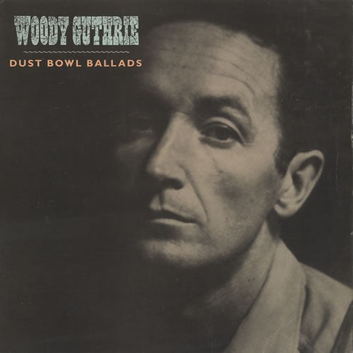 Woody Guthrie - Dust Bowl Ballads (CD, Album, Comp) - USED