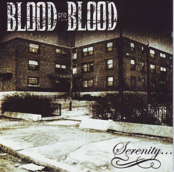Blood For Blood - Serenity (CD, MiniAlbum, Enh) - USED