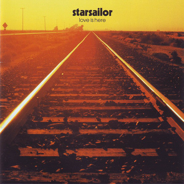 Starsailor - Love Is Here (CD, Album, RP) - USED