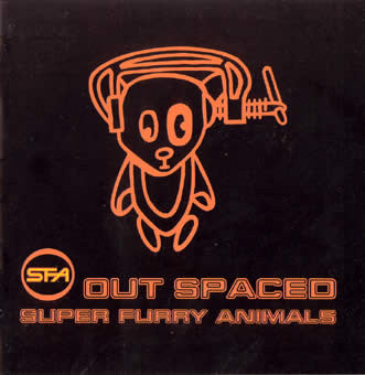 Super Furry Animals - Out Spaced (CD, Comp) - USED