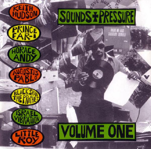 Various - Sounds & Pressure Volume One (CD, Comp) - USED