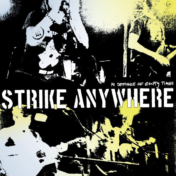 Strike Anywhere - In Defiance Of Empty Times (LP, Album, Whi) - NEW