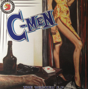 "C-Men - Wicked (7"", EP, blu) - USED"