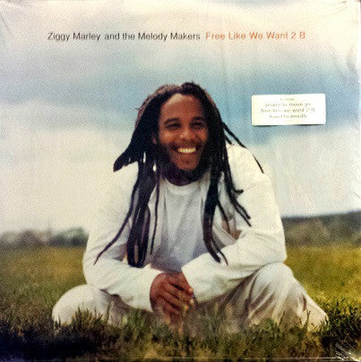 Ziggy Marley And The Melody Makers - Free Like We Want 2 B (LP, Album) - USED