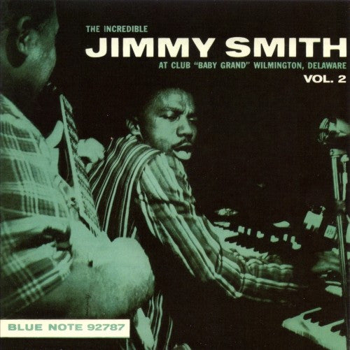 "The Incredible Jimmy Smith* - At Club ""Baby Grand"" Wilmington, Delaware, Vol. 2 (CD, Album, RE, RM) - USED"