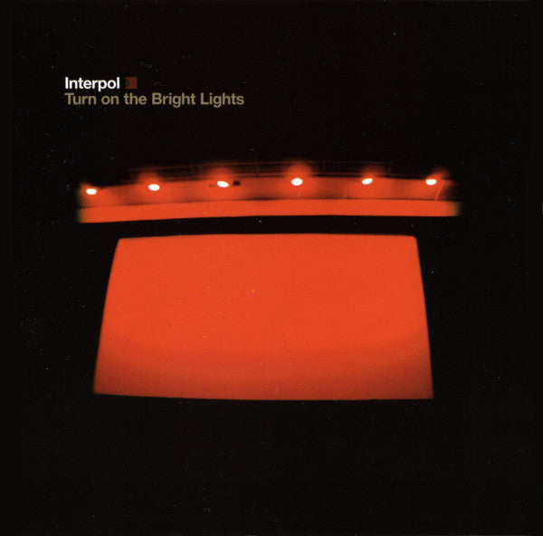 Interpol - Turn On The Bright Lights (CD, Album) - USED