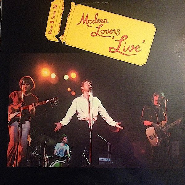 Modern Lovers* - Live (LP, Album, RE) - USED