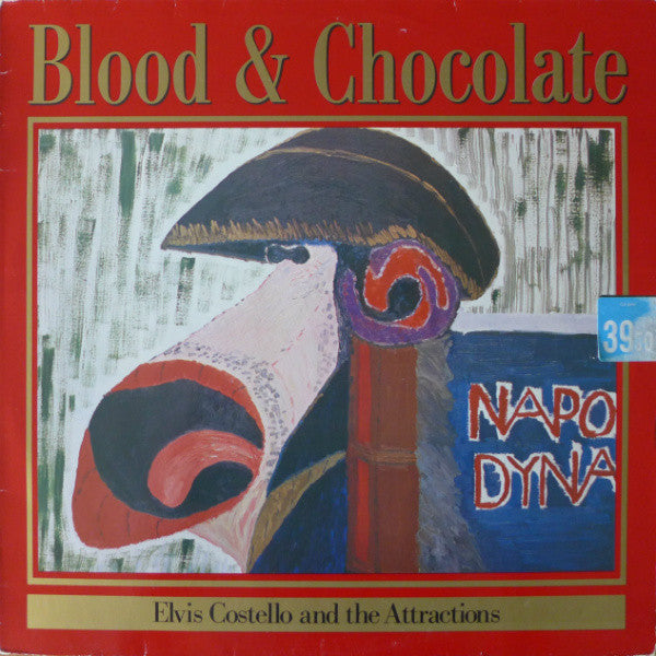 Elvis Costello And The Attractions* - Blood & Chocolate (LP, Album) - USED