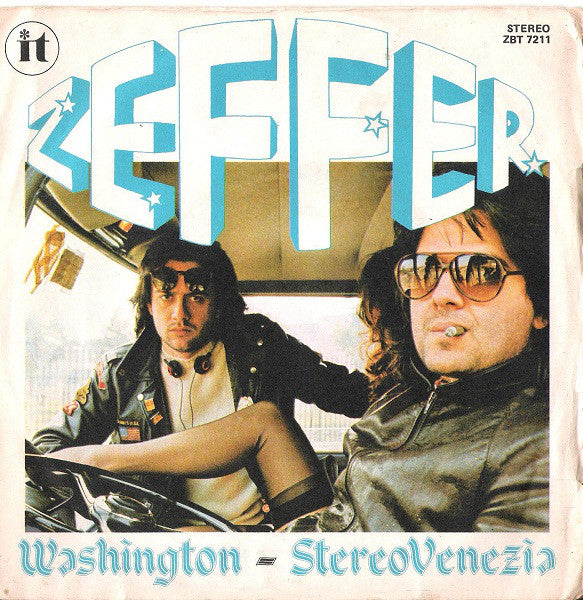 "Zeffer - Washington / Stereo Venezia (7"", Promo) - USED"