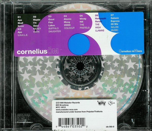 Cornelius - CM - Cornelius Remixes (CD, Comp) - USED