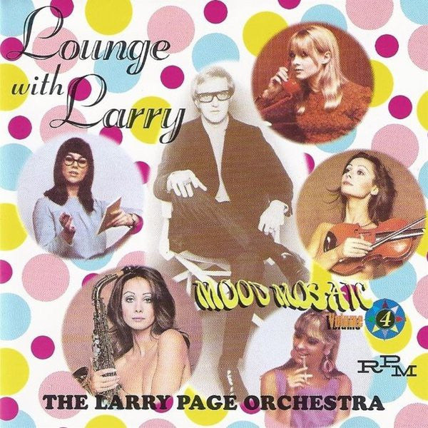 Larry Page Orchestra - Lounge With Larry (CD, Comp) - USED