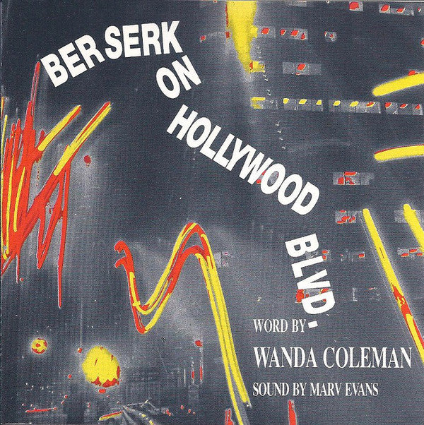 Wanda Coleman, Marv Evans - Berserk On Hollywood Blvd. (CD, Album) - USED