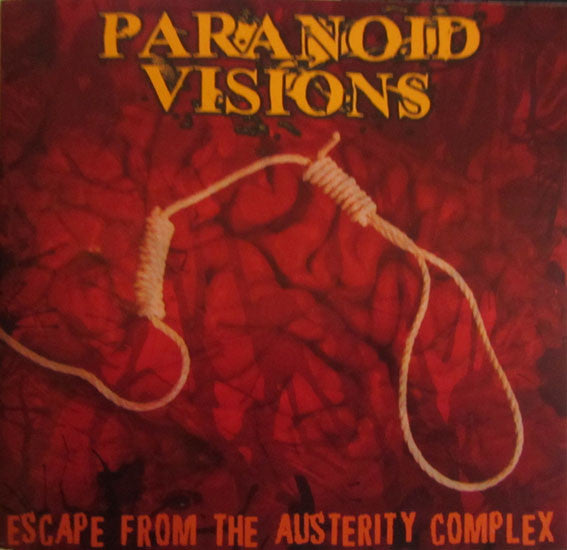 Paranoid Visions - Escape From The Austerity Complex (CD) - USED