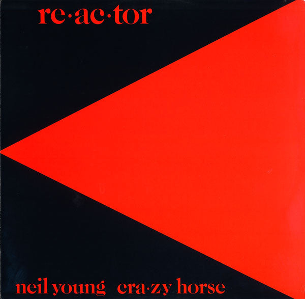 Neil Young & Crazy Horse - Reactor (LP, Album) - USED