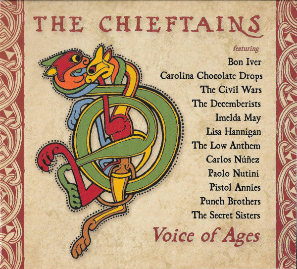 The Chieftains - Voice Of Ages (CD, Album) - USED
