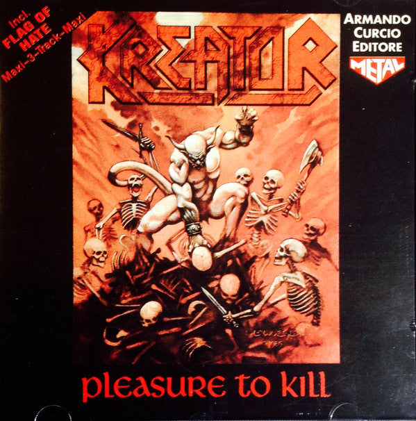 Kreator - Pleasure To Kill / Flag Of Hate (CD, Comp, RE, RM) - USED