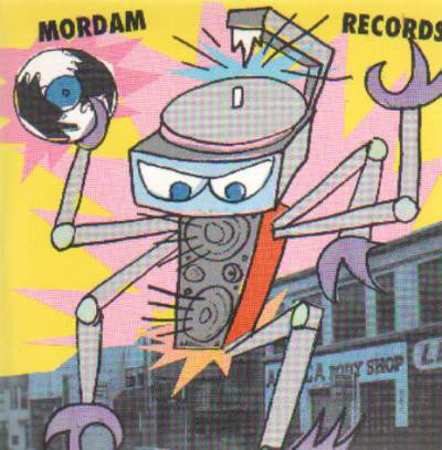 Various - Mordam Records Sampler Compilation #3 (CD, Comp) - USED