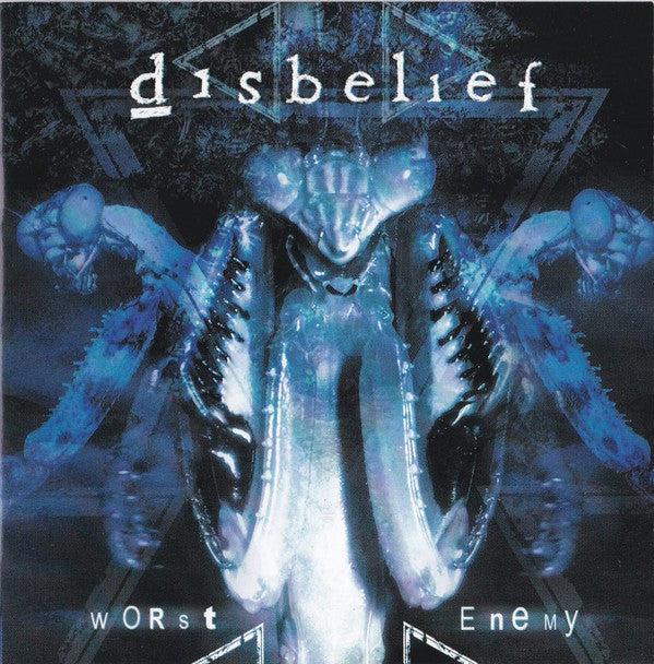 Disbelief - Worst Enemy (CD, Album) - USED