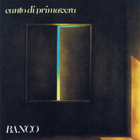 Banco* - Canto Di Primavera (CD, Album, RE) - USED
