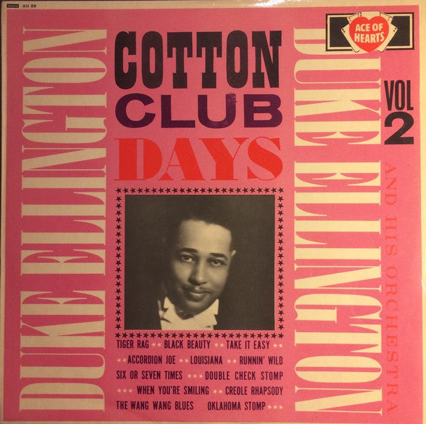 Duke Ellington And His Orchestra - Cotton Club Days Vol. 2 (LP, Comp) - USED