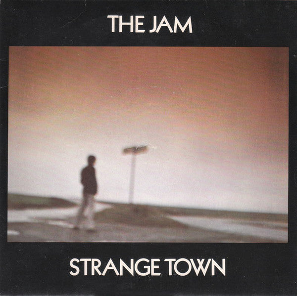 "The Jam - Strange Town (7"", Single, Pho) - USED"