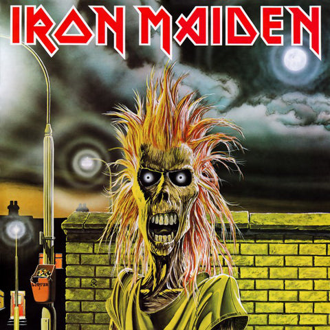 Iron Maiden - Iron Maiden (CD, Album, RE) - USED