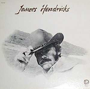 James Hendricks - James Hendricks (LP) - USED