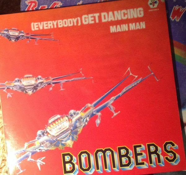 "Bombers - (Everybody) Get Dancing (12"") - USED"