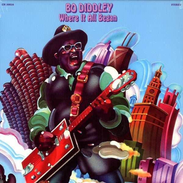 Bo Diddley - Where It All Began (LP, Album, RE) - USED